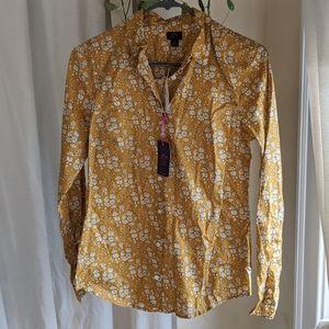JCrew liberty fabric button down dress shirt